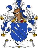 German Wappen Coat of Arms for Pieck