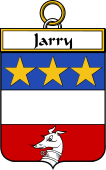 French Coat of Arms Badge for Jarry