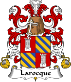 Coat of Arms from France for Larocque