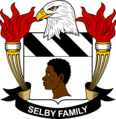 American Coat of Arms for Selby