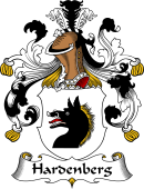 German Wappen Coat of Arms for Hardenberg