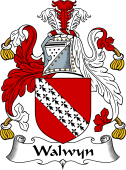 English Coat of Arms for Walwyn