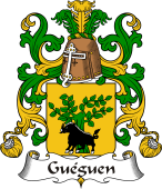 Coat of Arms from France for Guéguen
