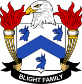 American Coat of Arms for Blight