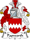 English Coat of Arms for Papworth