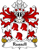 Welsh Coat of Arms for Russell (of Brimaston, Pembrokeshire)