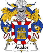 Spanish Coat of Arms for Abalos or Avalos