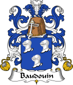 Coat of Arms from France for Baudouin