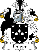 English Coat of Arms for Phipps