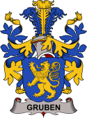 Swedish Coat of Arms for Gruben