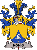 Swedish Coat of Arms for König