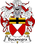 Portuguese Coat of Arms for Bocanegra