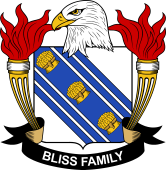 American Coat of Arms for Bliss