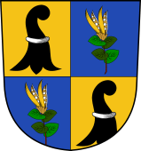 Swiss Coat of Arms for Bleuler