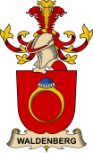 Republic of Austria Coat of Arms for Waldenberg