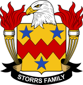American Coat of Arms for Storrs