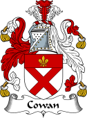 Scottish Coat of Arms for Cowan or Coun