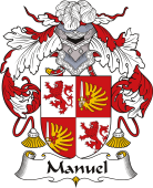 Spanish Coat of Arms for Manuel