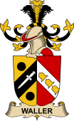 Republic of Austria Coat of Arms for Waller