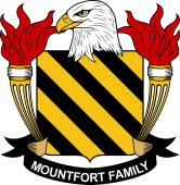 American Coat of Arms for Mountfort
