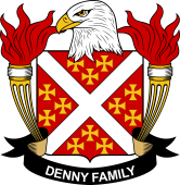 American Coat of Arms for Denny