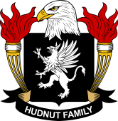 American Coat of Arms for Hudnut