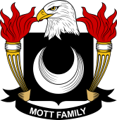 American Coat of Arms for Mott