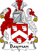 English Coat of Arms for Bayman