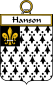 Irish Badge for Hanson or O'Hanson