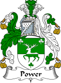 English Coat of Arms for Power