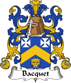 Coat of Arms from France for Bacquet