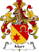 German Wappen Coat of Arms for Marr
