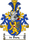 Dutch Coat of Arms for de Booy