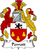 English Coat of Arms for Perrott