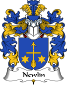 Polish Coat of Arms for Newlin