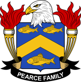 American Coat of Arms for Pearce