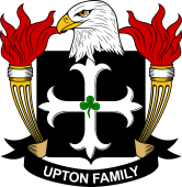 American Coat of Arms for Upton