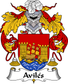 Spanish Coat of Arms for Avilés