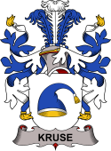 Danish Coat of Arms for Kruse