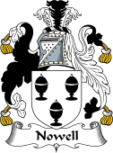 English Coat of Arms for Nowell