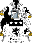 English Coat of Arms for Pawley