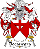 Spanish Coat of Arms for Bocanegra