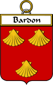 French Coat of Arms Badge for Bardon