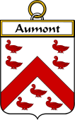 French Coat of Arms Badge for Aumont