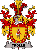 Swedish Coat of Arms for Trolle