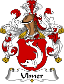 German Wappen Coat of Arms for Ulmer