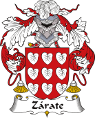 Spanish Coat of Arms for Zárate