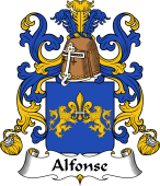 Coat of Arms from France for Alfonse