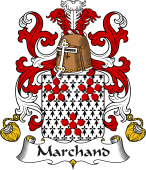 Coat of Arms from France for Marchand