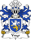 Welsh Coat of Arms for Ynyr (AP CADFARCH)
